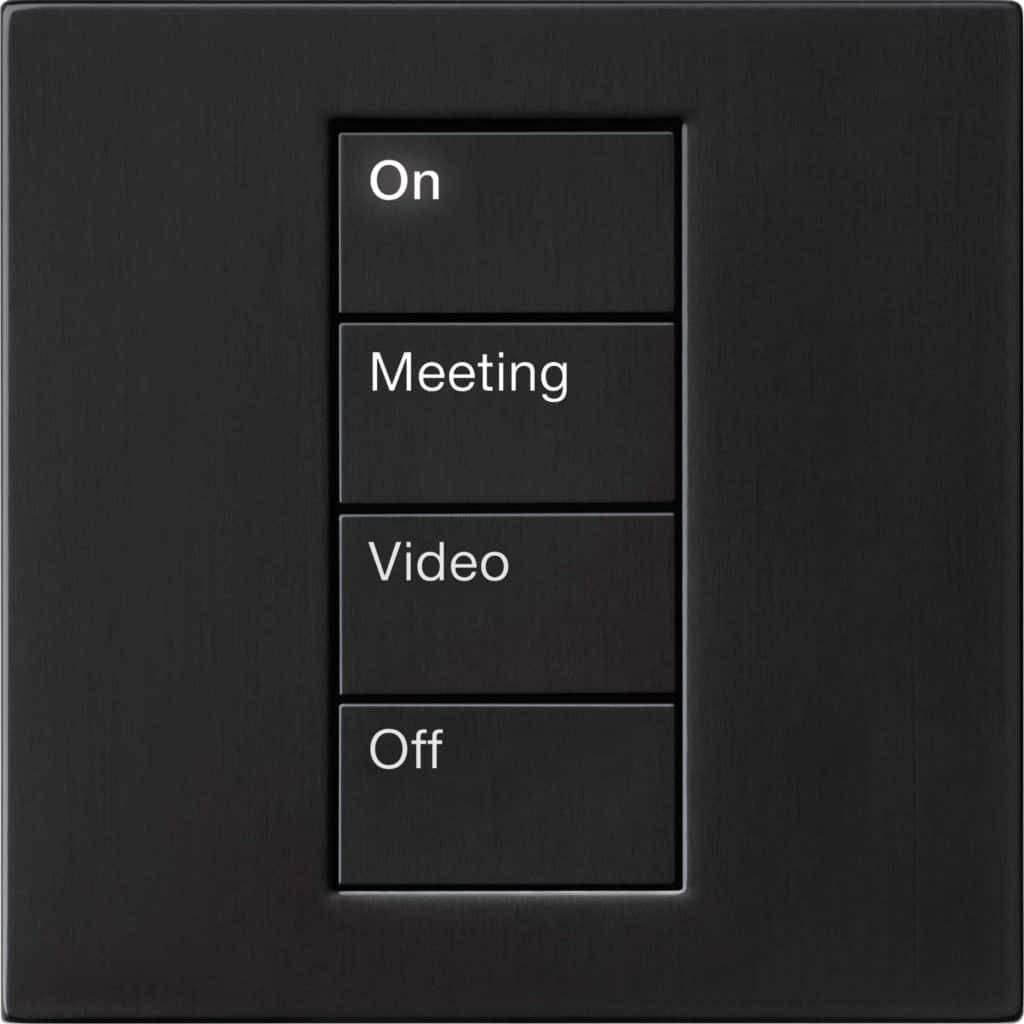 Palladium black conference keypad
