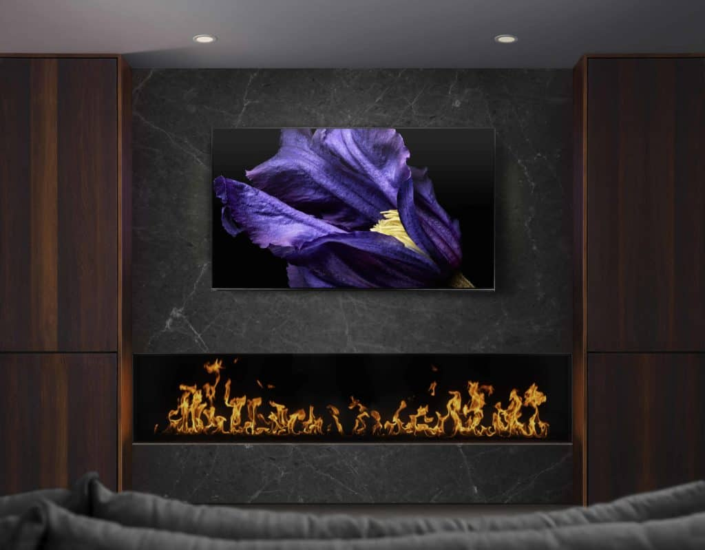SONY fireplace