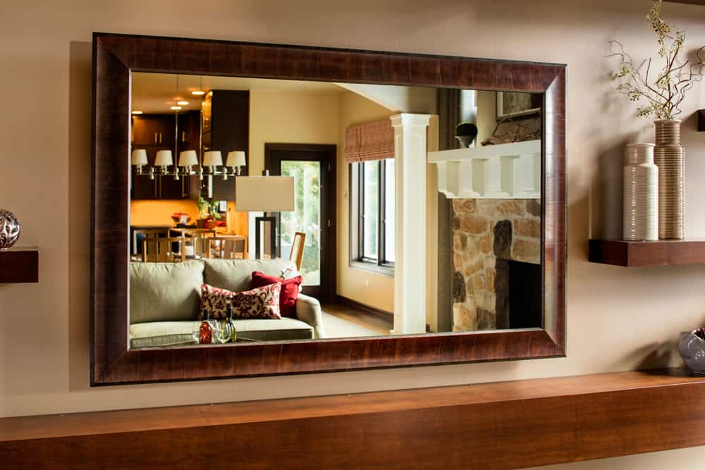 VanishingEntertainmentTVMirror LivingRoom Off
