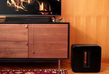 sets black 3 1 tv